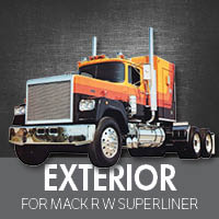 Exterior Parts for Mack RW Superliner