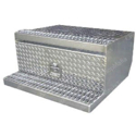 30 X 30 X 15 Inch Diamond Plate Aluminum Tool Box For Peterbilt