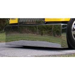 20 Inch Stainless Steel American Eagle Blind Mount Bumper