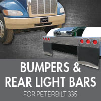 Bumpers for Peterbilt 335