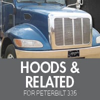 Hoods & Related for Peterbilt 335