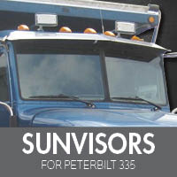 Sun Visors for Peterbilt 335