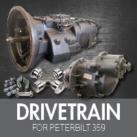 Drive Train for Peterbilt 359