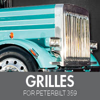 Grilles for Peterbilt 359