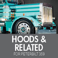 Hoods & Related Parts for Peterbilt 359
