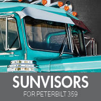 Sun Visors for Peterbilt 359
