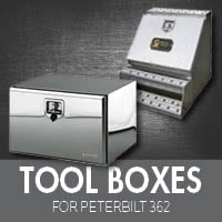 Toolboxes for Peterbilt 362