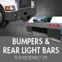 Bumpers for Peterbilt 375