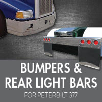 Bumpers for Peterbilt 377