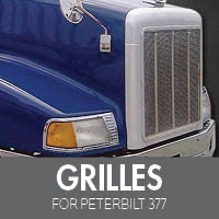 Grilles for Peterbilt 377