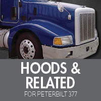 Hoods & Related for Peterbilt 377