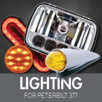 Lighting for Peterbilt 377