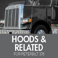 Peterbilt 378 Hoods & Related