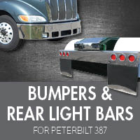 Bumpers for Peterbilt 387