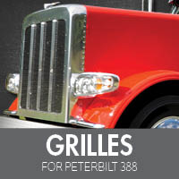 Grilles for Peterbilt 388