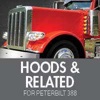 Hoods & Related for Peterbilt 388