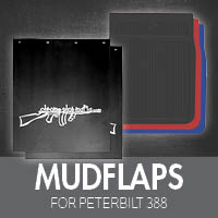 Mudflaps for Peterbilt 388