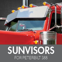Sun Visors for Peterbilt 388