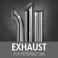 Exhaust for Peterbilt 389
