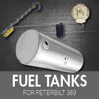Peterbilt 389 Fuel Tanks