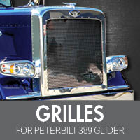 Grilles for Peterbilt 389 Glider