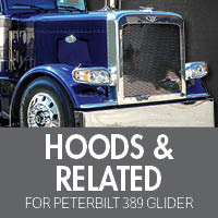Hoods & Related for Peterbilt 389 Glider