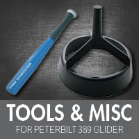 Tools for Peterbilt 389 Glider