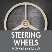 Perterbilt 389 Steering Wheels