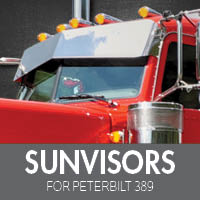 Sun Visors for Peterbilt 389