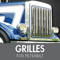 Grilles for Peterbilt
