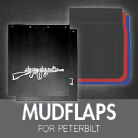 Mudflaps for Peterbilt