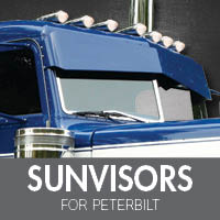Sun Visors for Peterbilt