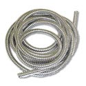 Stainless Steel Flexible 3/8 Inch Wire Loom 10 Feet Per Roll