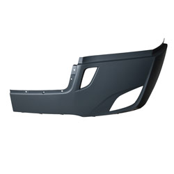 Freightliner Cascadia 116/126 Bumper Cover With Deflector & Fog Light Holes