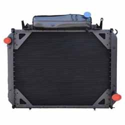 High Performance Radiator With Surge Tank 31.875 X 37 Inch Fits Freightliner FLD & Classic