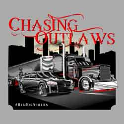 Chasing Outlaws Short Sleeve Shirt - Light Gray Shirt