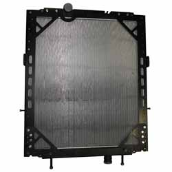 Plastic Aluminum Radiator With Frame Fits Kenworth W900 & Peterbilt 389