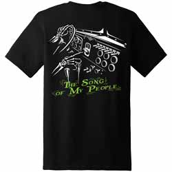 Diesel Life The Song Of My People Black Short Sleeve T-Shirt