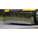 22 Inch Chrome American Eagle Blind Mount Bumper