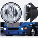 Round Headlight Fits Kenworth T2000 Driver Side