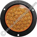 LED 418 Strobe Light - 4in Round w/ Flange