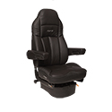 Seats Inc Legacy LO High Back DuraLeather Seat With Armrests