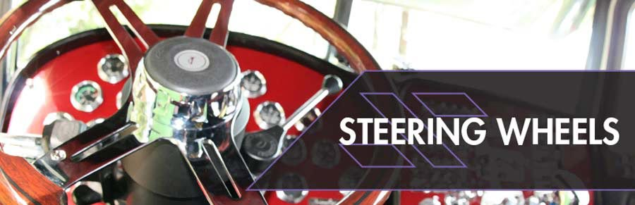 Semi Truck Steering Wheels & Accessories
