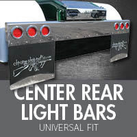 Universal bumpers 4 state trucks universal center rear light bars mozeypictures Image collections
