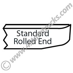 Standard Rolled End