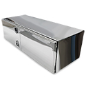 Bawer Stainless Steel Toolbox 60in x 24in x 18in with Double Doors
