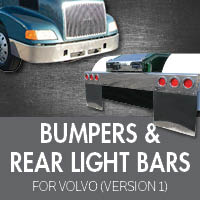 Bumpers for Volvo VNL Version 1