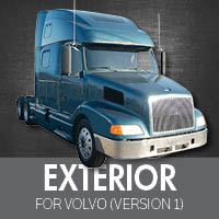 Exterior Parts for Volvo VNL Version 1