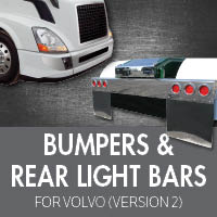 Bumpers for Volvo VNL Version 2