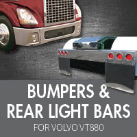 Bumpers for Volvo VT880